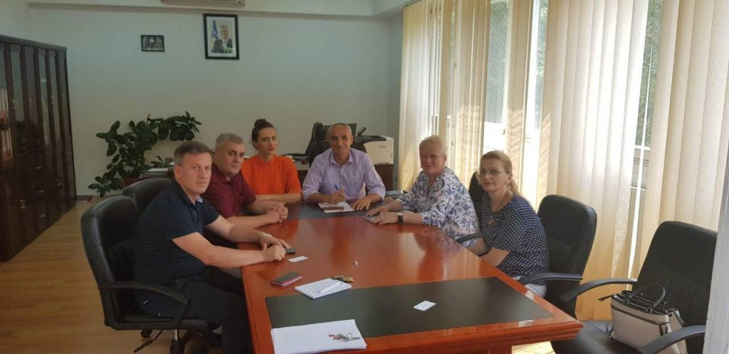 Meeting with the representative of the American Embassy in Kosovo,
