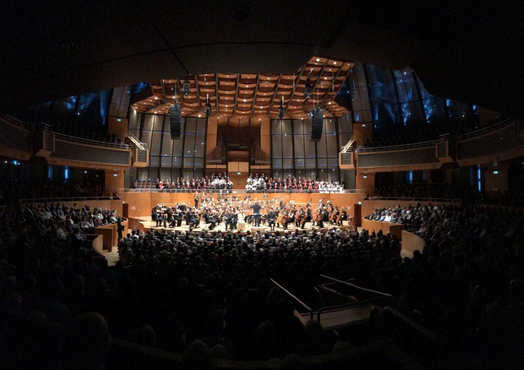 Kori i Fakultetit të Arteve mbajti tri koncerte në Gjermani