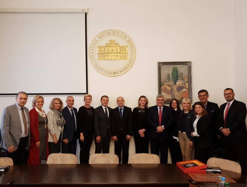 Cooperation strengthening with University of Sarajevo
