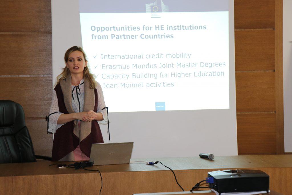 """Dita Informuese Erasmus+ ne Universitetin e Pejes """"Haxhi Zeka"""""""