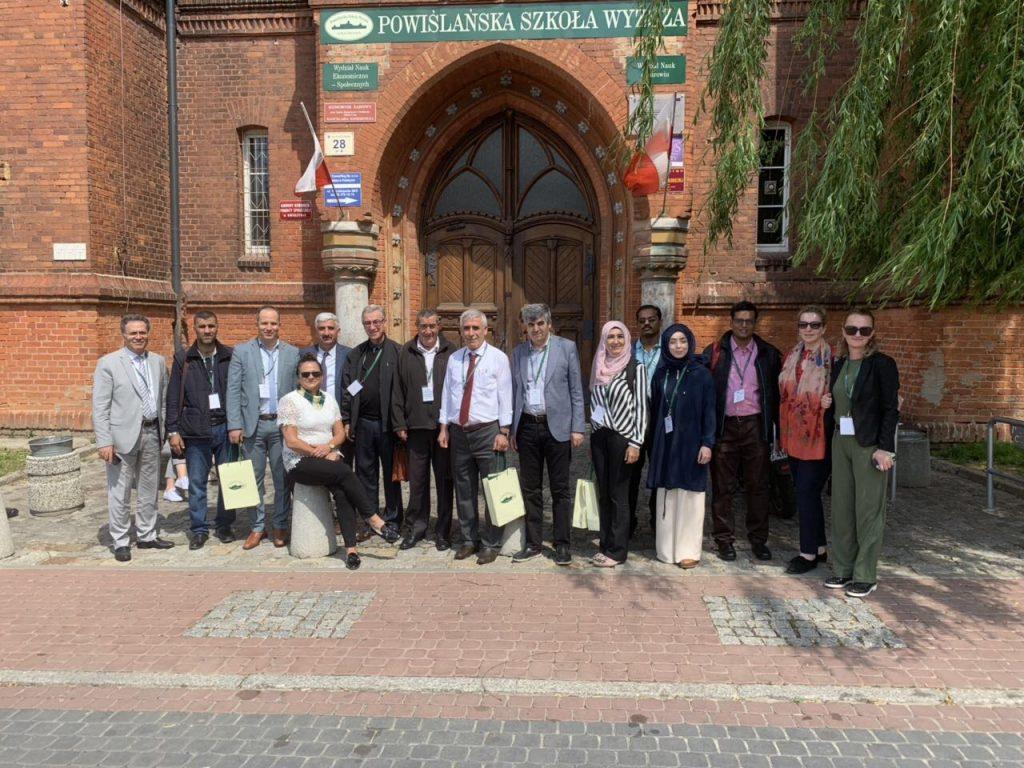 Vizitë në Powislanskie University, Poloni