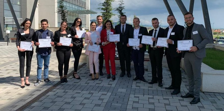 HZU students took the first place in the competition among Kosovo's public universities