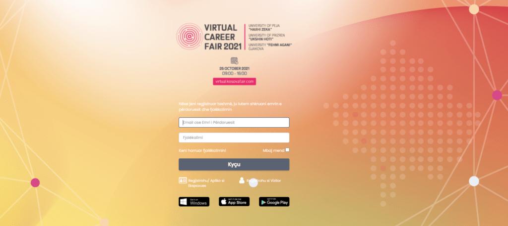 """Webinar – """"Mundësitë në Panairin Virtual të Karrierës"""""""