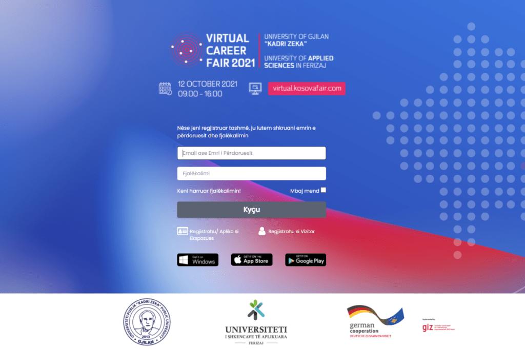 Ftesë për pjesëmarrje në Panairin Virtual të Karrierës